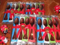 Cucchiaini di cioccalata :: La Piazzetta - confetteria